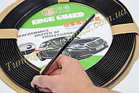 Декоративный цветной молдинг,лента (полосы) накладки для решеток вентиляции салона 1 МЕТР черный для авто