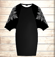 Умное платье с 3D принтом Белое кружево