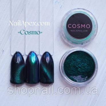Магнітна пудра & втирка «Cosmo» (Космо) (№2) Бірюза-фуксія, фото 2