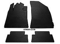 Резиновые автомобильные коврики в салон CITROEN C5 2008 ситроен ц5 Stingray