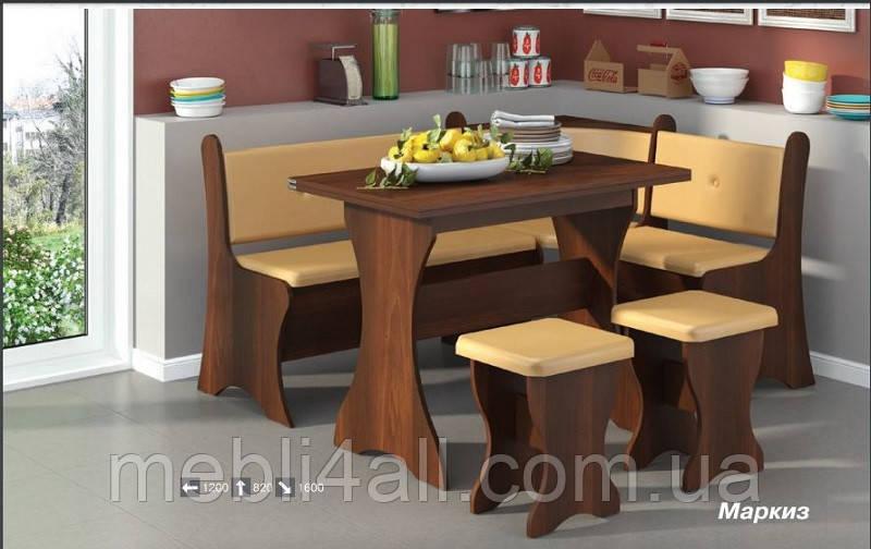 Мягкий кухонный комплект Маркиз
