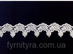 Мереживо весільну 8,5 см біле