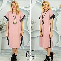 Женское платье-туника батал, фото 1