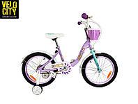 """Велосипед детский RoyalBaby Chipmunk MM Girls 16"""", фиолетовый, фото 1"""