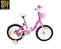 """Велосипед дитячий RoyalBaby Chipmunk MM Girls 16"""", рожевий, фото 1"""