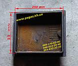 Дверцята чавунна грубна, чавунне лиття грубу, барбекю, мангал, печі, фото 2