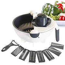 Многофункциональная овощерезка Wet Basket Vegetable Cutter, фото 3