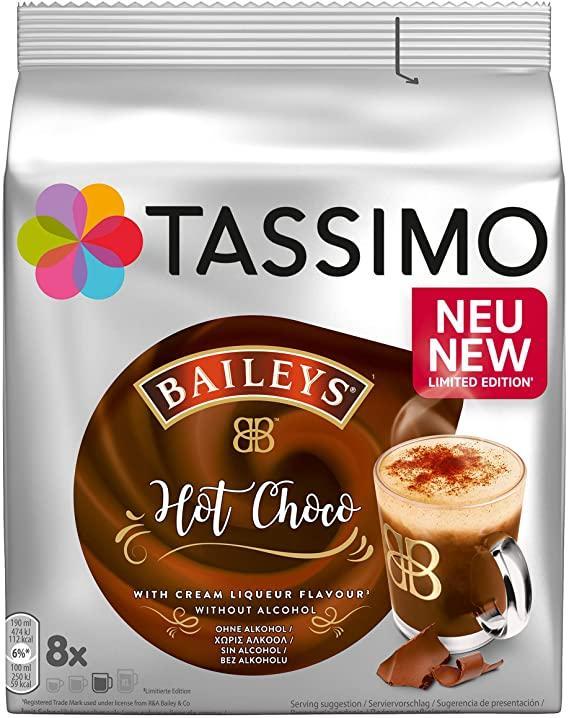 Кофе в капсулах Tassimo Latte Macchiato Baileys Hot Choco (8 порц.) Германия (Тассимо)