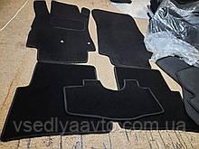 Ворсовые коврики Renault Modus (Черные)