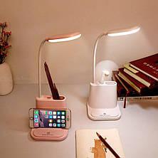 Led лампа с держателем для телефона DESK LAMP, фото 2
