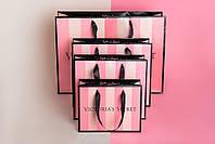 Пакет бумажный Victoria Secret средний (М)