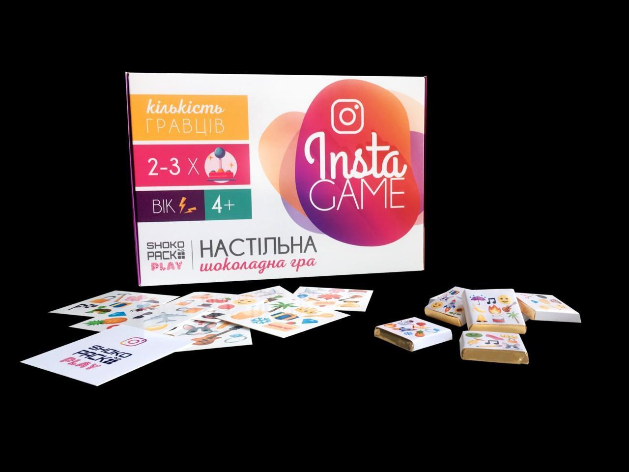 """Шоколадная настольная игра """"Insta Game"""""""