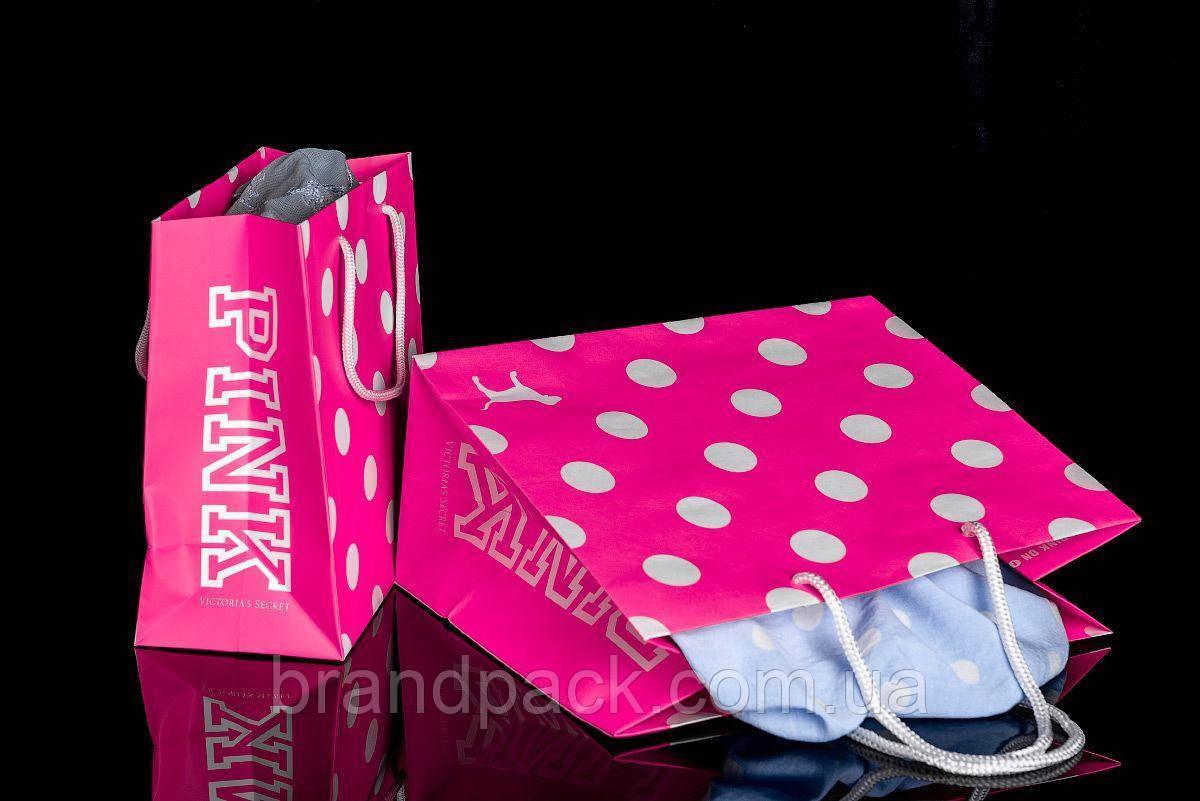 Бумажный пакет Pink большой