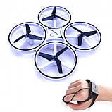 Квадрокоптер Drone 928 с перчаткой управления рукой и датчиками препятствий, фото 6