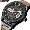 Часы CURREN 8301 Black Brown 47mm (Quartz).