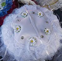 Красивая пасхальная салфетка на детскую корзинку