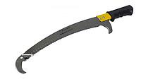 Ножовка садовая изогнутая 350 мм СТАЛЬ с крюком (69730)