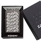 Зажигалка Zippo 29631 Zippo Lighter 2018 Black Ice черная 29631, фото 3