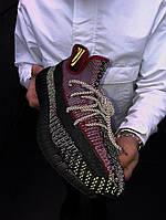 Жіночі Кросівки в стилі Adidas Yeezy Boost 350 v2 Повний Рефлектив