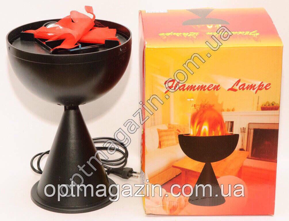 Flammen lampe  (огонь лампа) на подставке