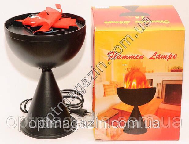 Flammen lampe (вогонь лампа) на підставці, фото 2