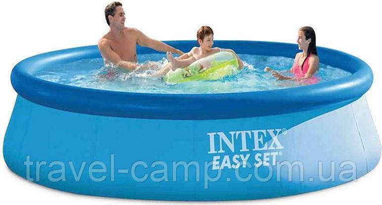 Надувний басейн Intex 28130 Easy Set Pool , 366х76 див.