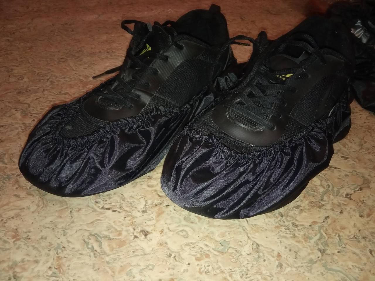 Чехлы на ноги от грязи бахилы многоразовые защита от грязных ног в садик, школу родителям и детям 37-43 размер