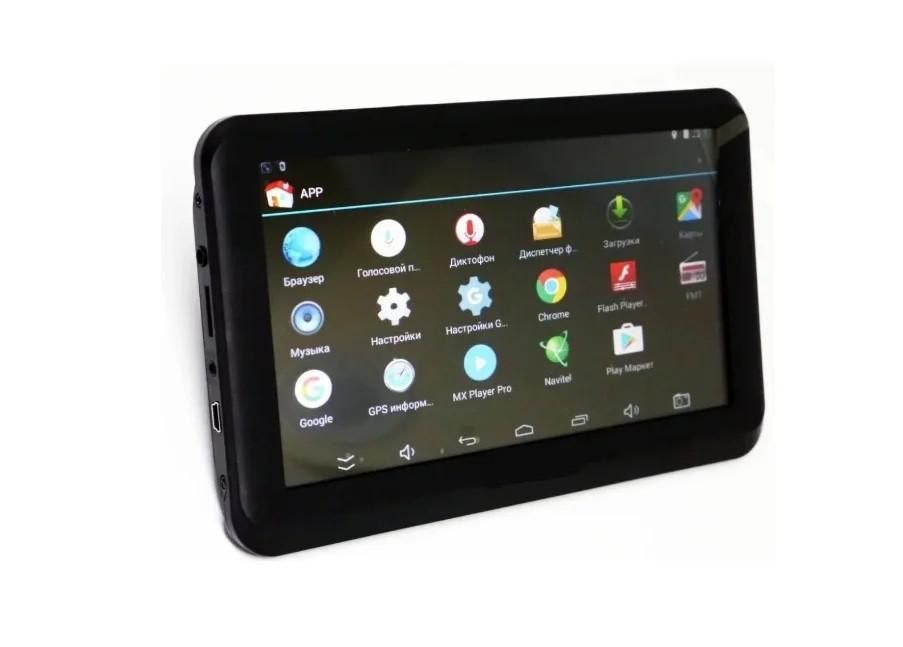 """Автомобильный GPS Навигатор - 7"""" android A7002S+DVR"""