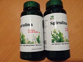 Оригинал! «Спирулина» комплект для похудения ( 2 упаковки, 720 табл.).