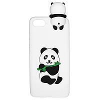 Чехол Cartoon 3D Case для Apple iPhone 5 / 5S / SE Панда, фото 1
