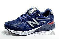 Мужские кроссовки в стиле New Balance 990 Classic, Dark blue, фото 2