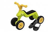 Ролоцикл для катання малюка з захисними насадками, зелений, 18міс.+