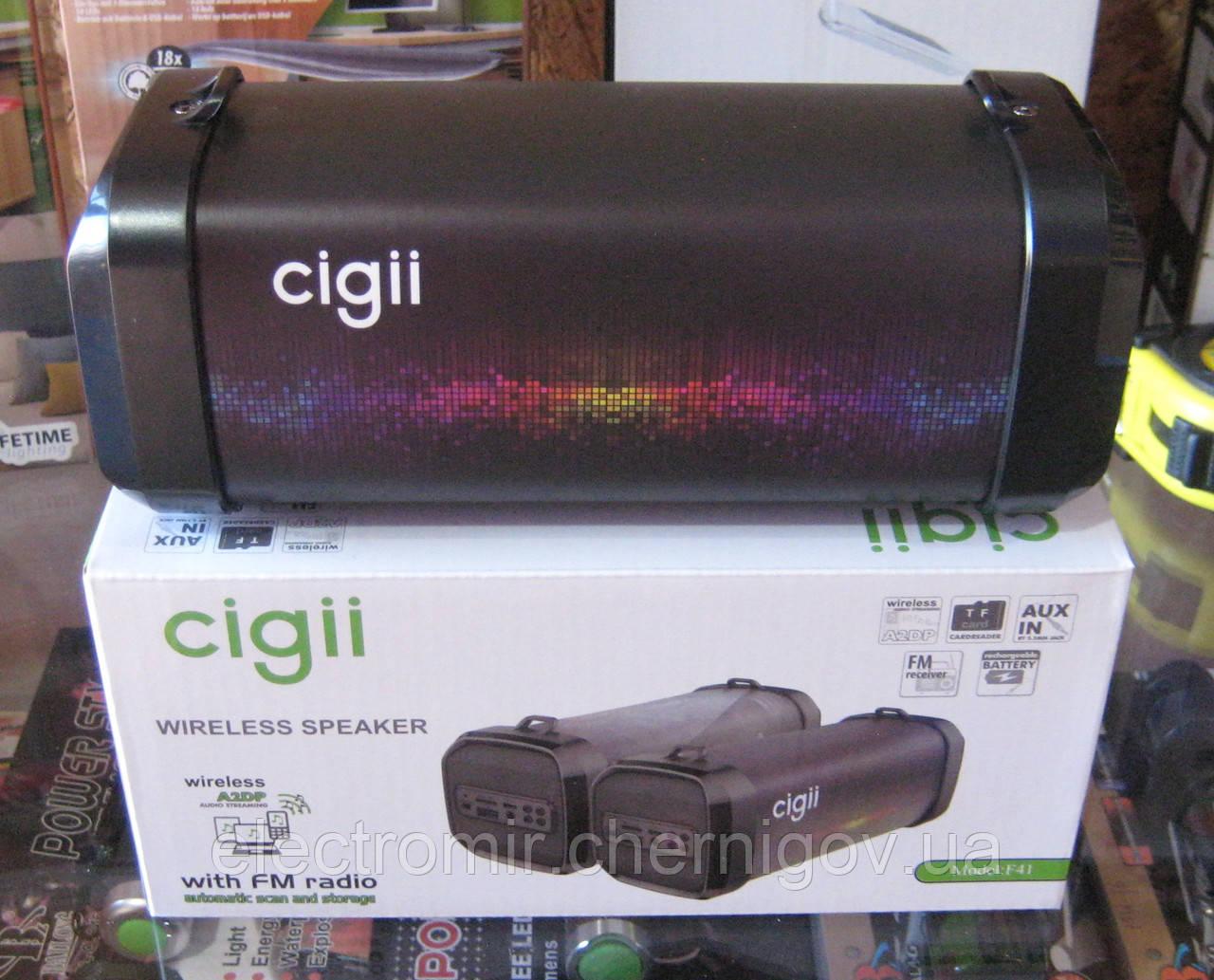 Портативная Bluetooth колонка Cigii F41