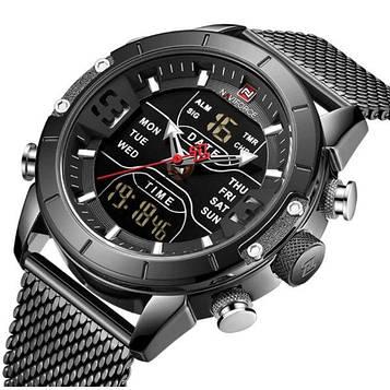 Naviforce Мужские часы Naviforce Tesla Black NF9153