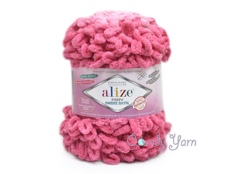 Alize Puffy Ombre Batik, №7418