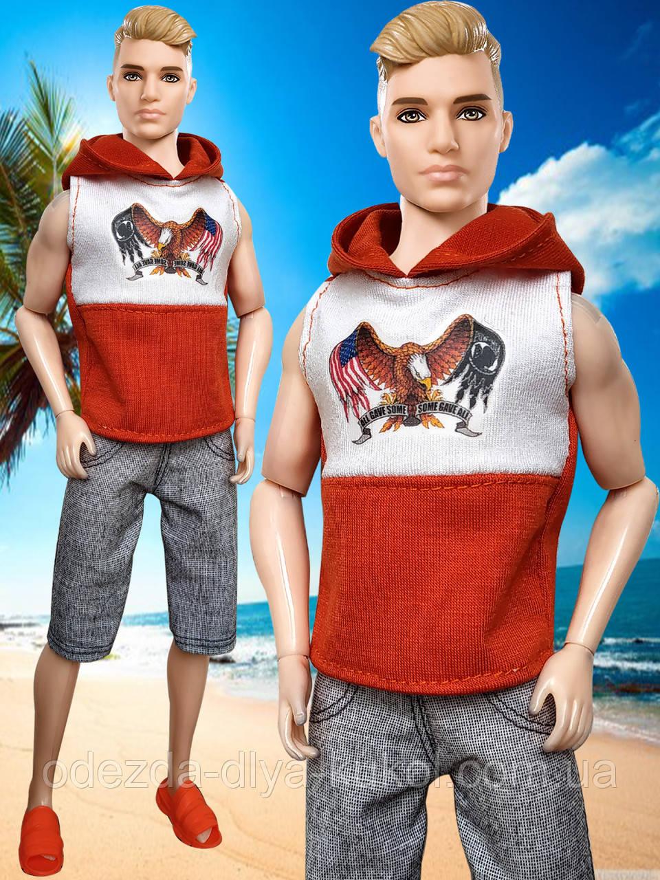 Одяг для Кена - майка і шорти
