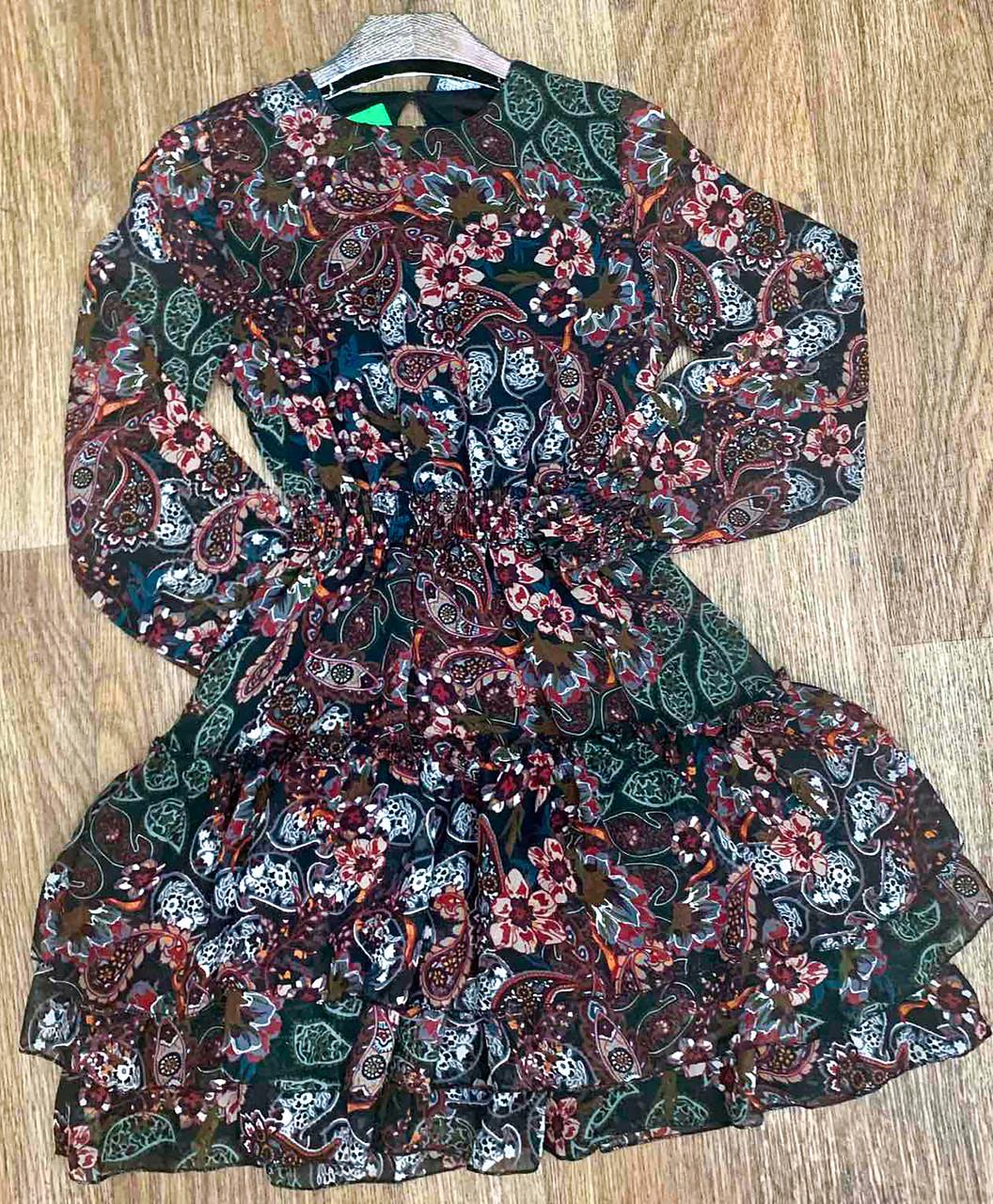 Повседневное платье на весну (42-48)