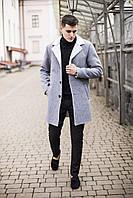 "Дубленка мужская Pobedov ""Deputat"" Grey"