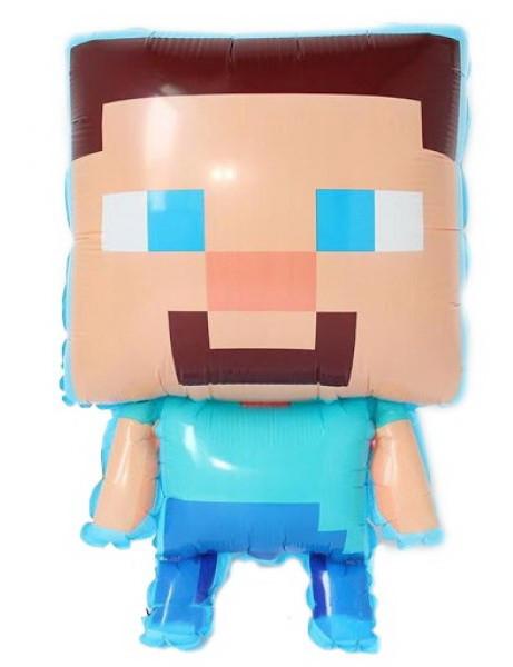 """Шар фигурный """"Minecraft"""". Размер: 57см*43см."""