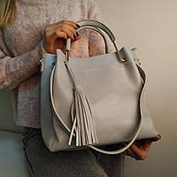 """Женская повседневная сумка на плечо """"Ия Light Blue 2"""""""