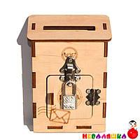 Заготовка для Бизиборда Почтовый Ящик 12х8 см Деревянная Дверка Дерев'яна Поштова скринька бізіборда