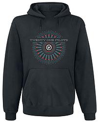 Толстовка без молнии Twenty One Pilots - Logo (чёрная)