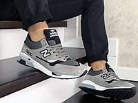 Мужские кроссовки New Balance 1500 в цветах - серый, демисезонные