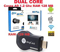 Wi-Fi адаптер AnyCast M9 Plus (Miracast Адаптер Airplay / MiraScreen / Chromecast, фото 1