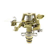 Дощуватель Presto-PS зрошувач імпульсний для газону металевий з різьбою 1/2 дюйма (8104), фото 1