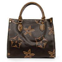 Женская сумка 19027 brown женские сумки оптом недорого Одесса