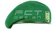 Берет Зеленый ПВ Капелька, фото 1