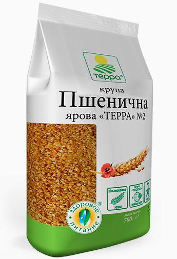 """Крупа Пшенична ярова №2 """"Терра"""" 700 г"""