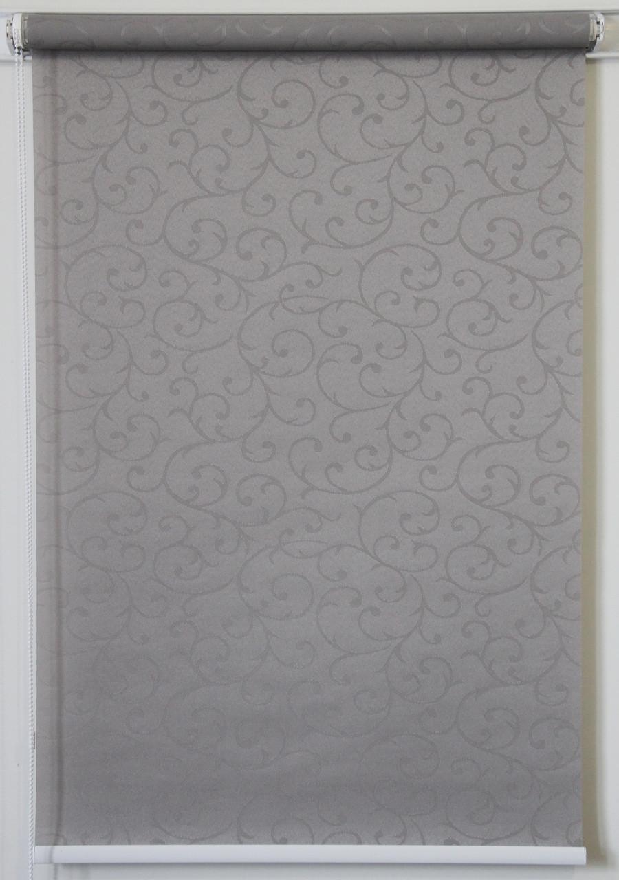 Рулонная штора 325*1500 Акант 2267 Серый