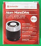 Портативная колонка Defender Atom MonoDrive 1.0, фото 4
